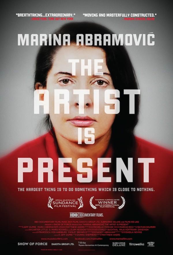 плакат фильма постер Марина Абрамович: В присутствии художника