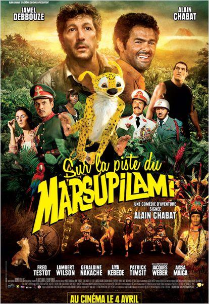 плакат фильма постер Джунгли зовут! В поисках Марсупилами