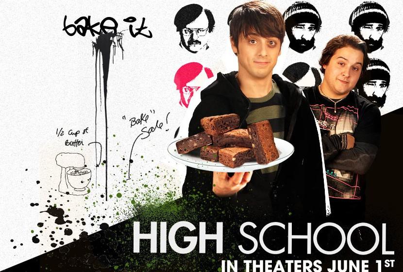 плакат фильма биллборды Крутые кексы