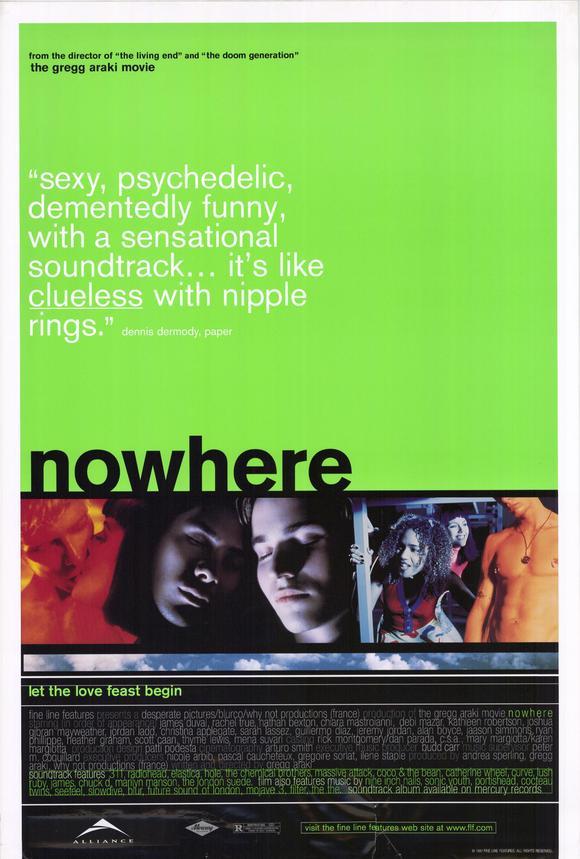 плакат фильма Нигде