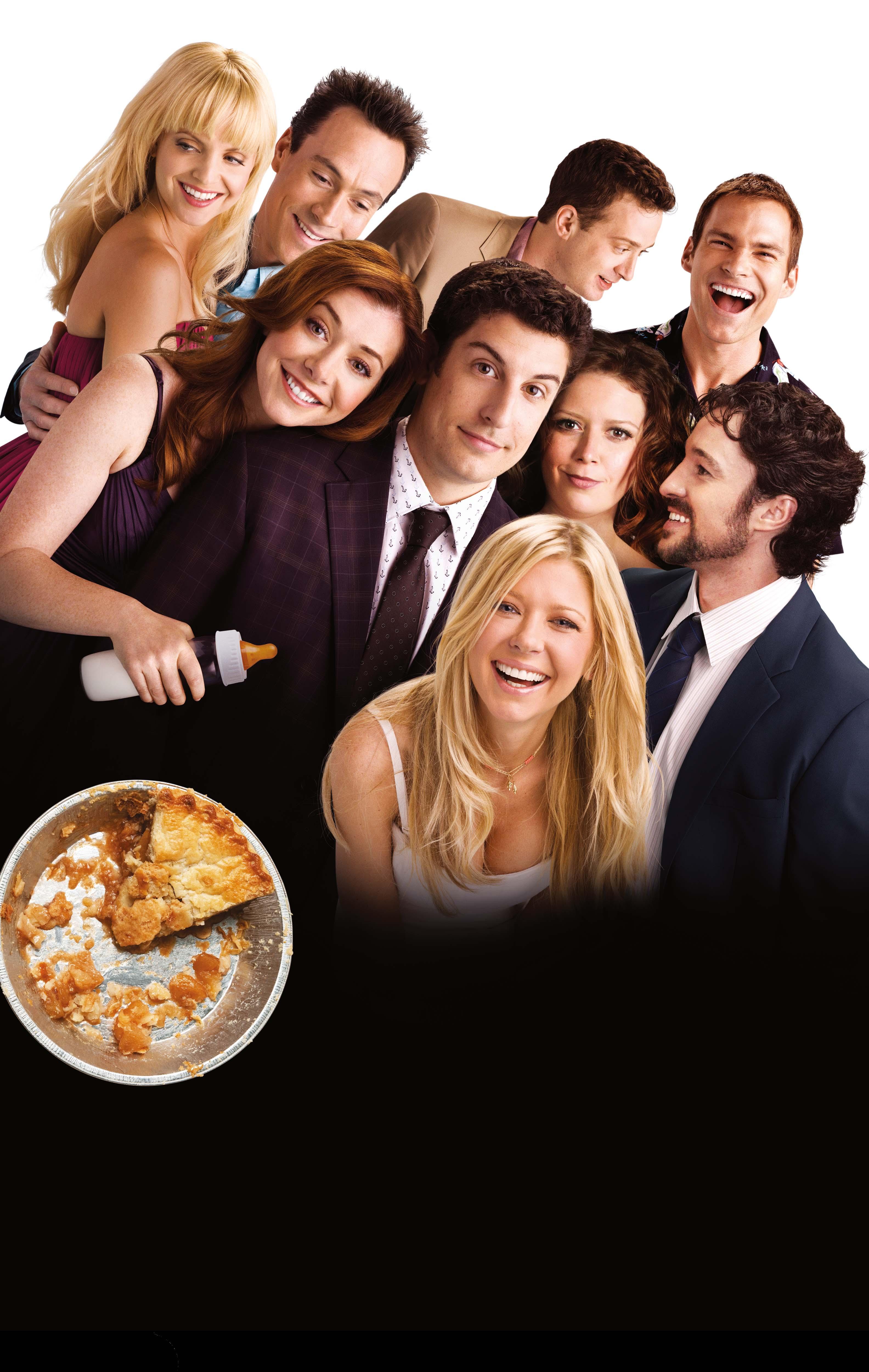 плакат фильма постер textless Американский пирог: Все в сборе