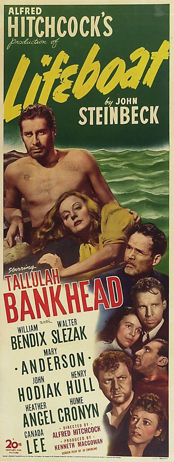 плакат фильма баннер Спасательная шлюпка