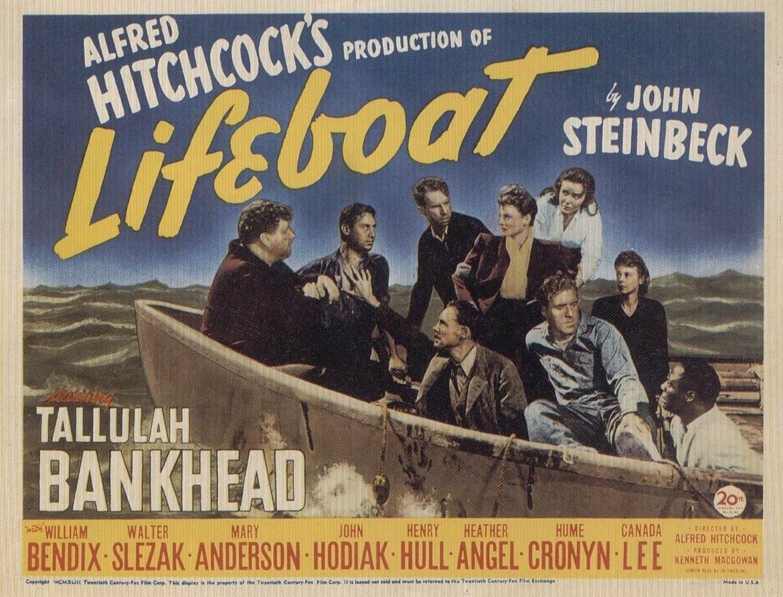 плакат фильма биллборды Спасательная шлюпка