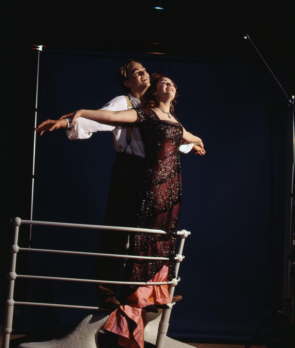 промо-слайды Титаник Кейт Уинслет, Леонардо ДиКаприо,