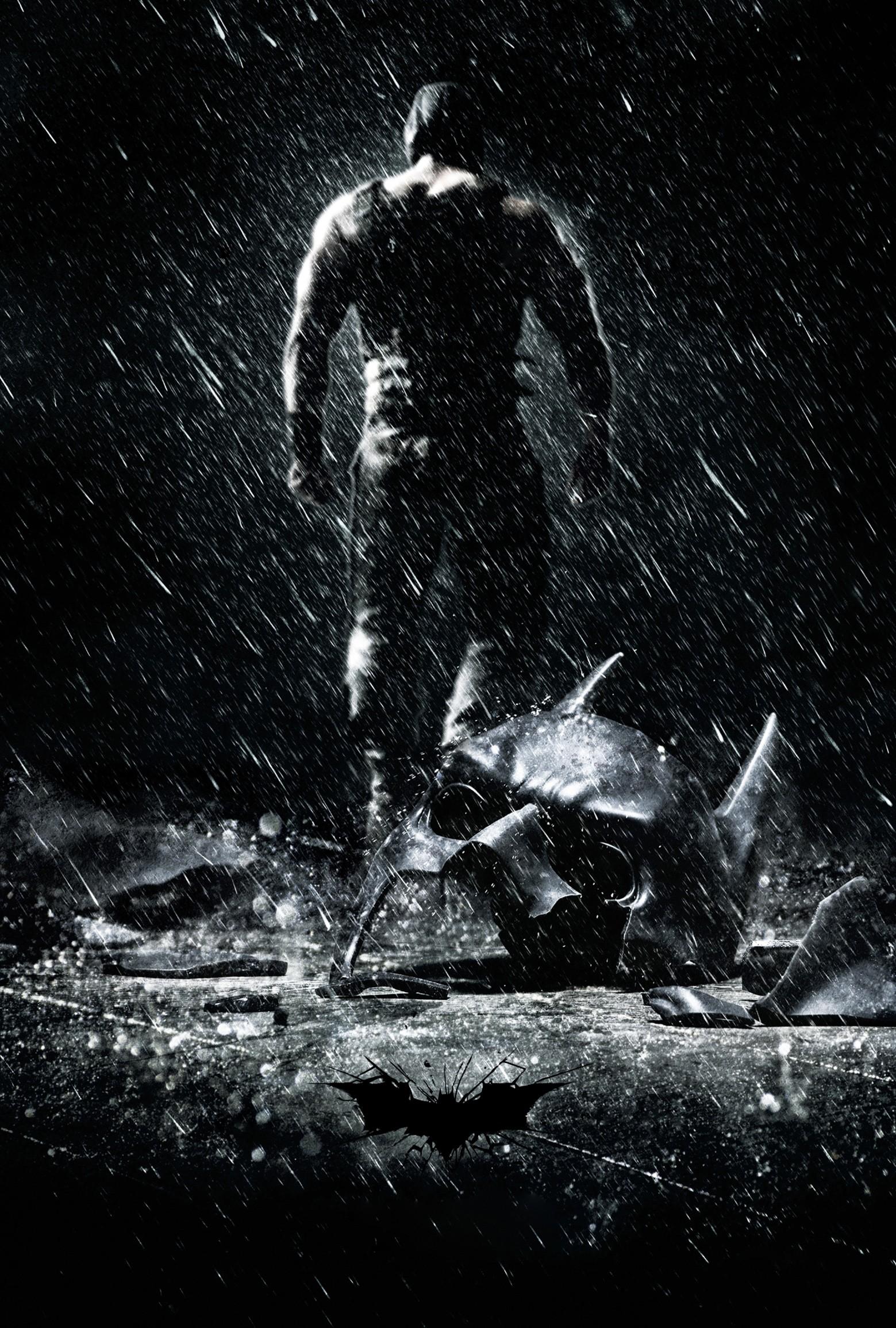 плакат фильма постер textless Темный рыцарь: Возрождение легенды