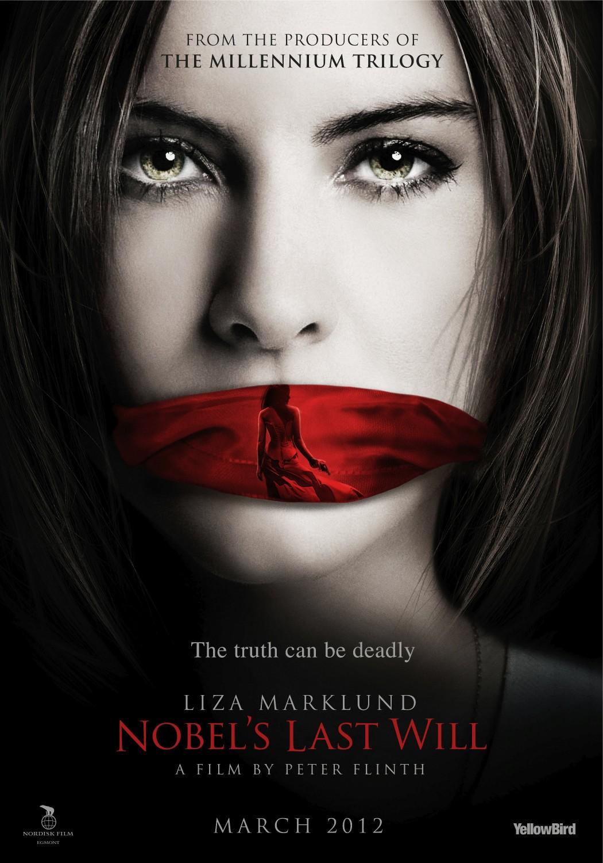 плакат фильма постер Последнее завещание Нобеля