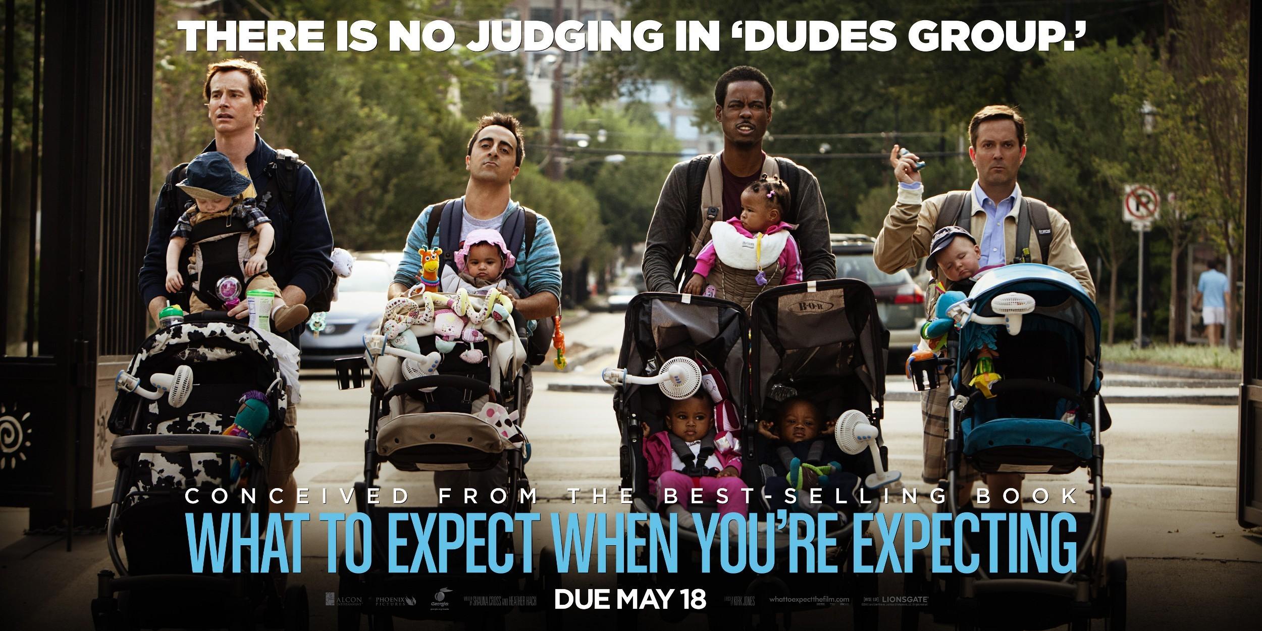 плакат фильма характер-постер баннер Чего ждать, когда ждешь ребенка