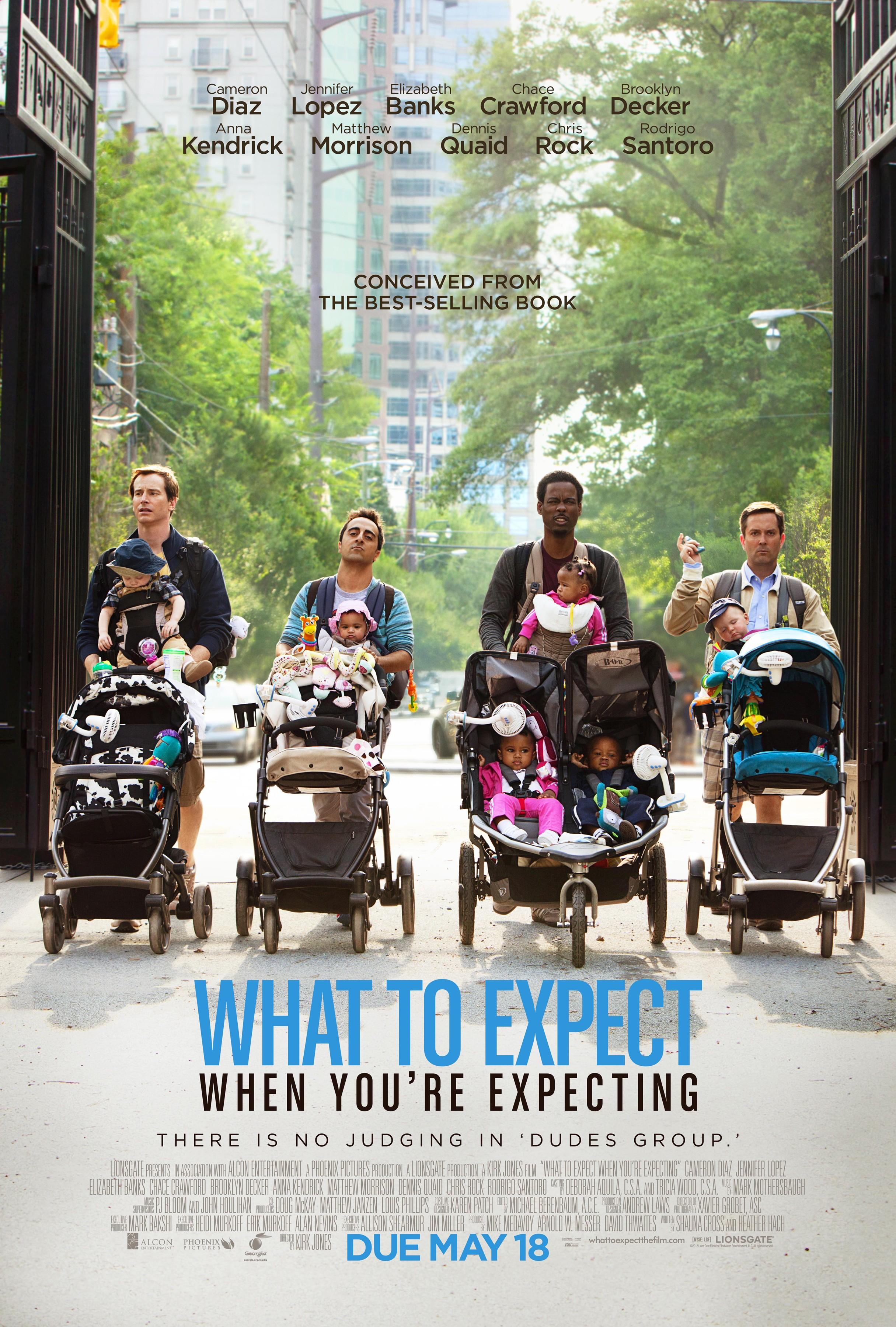 плакат фильма характер-постер Чего ждать, когда ждешь ребенка