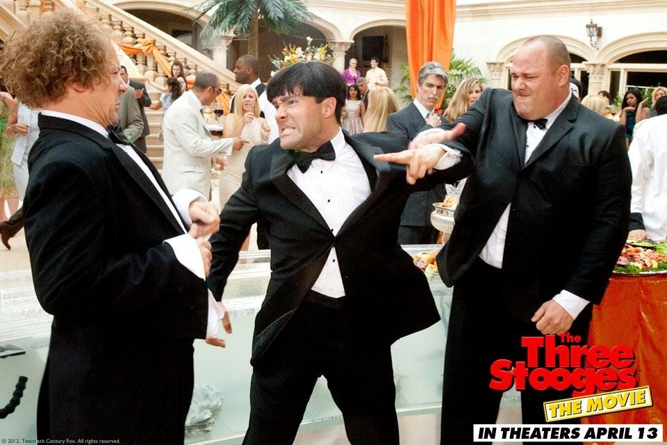 Filmz.ru: Три балбеса Фотогалерея кадры из фильма Шон П. Хэйс ...