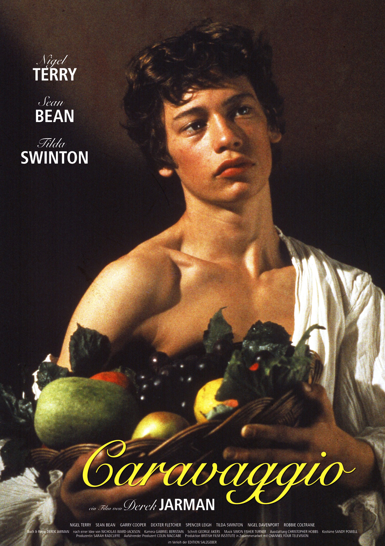 плакат фильма постер Караваджо