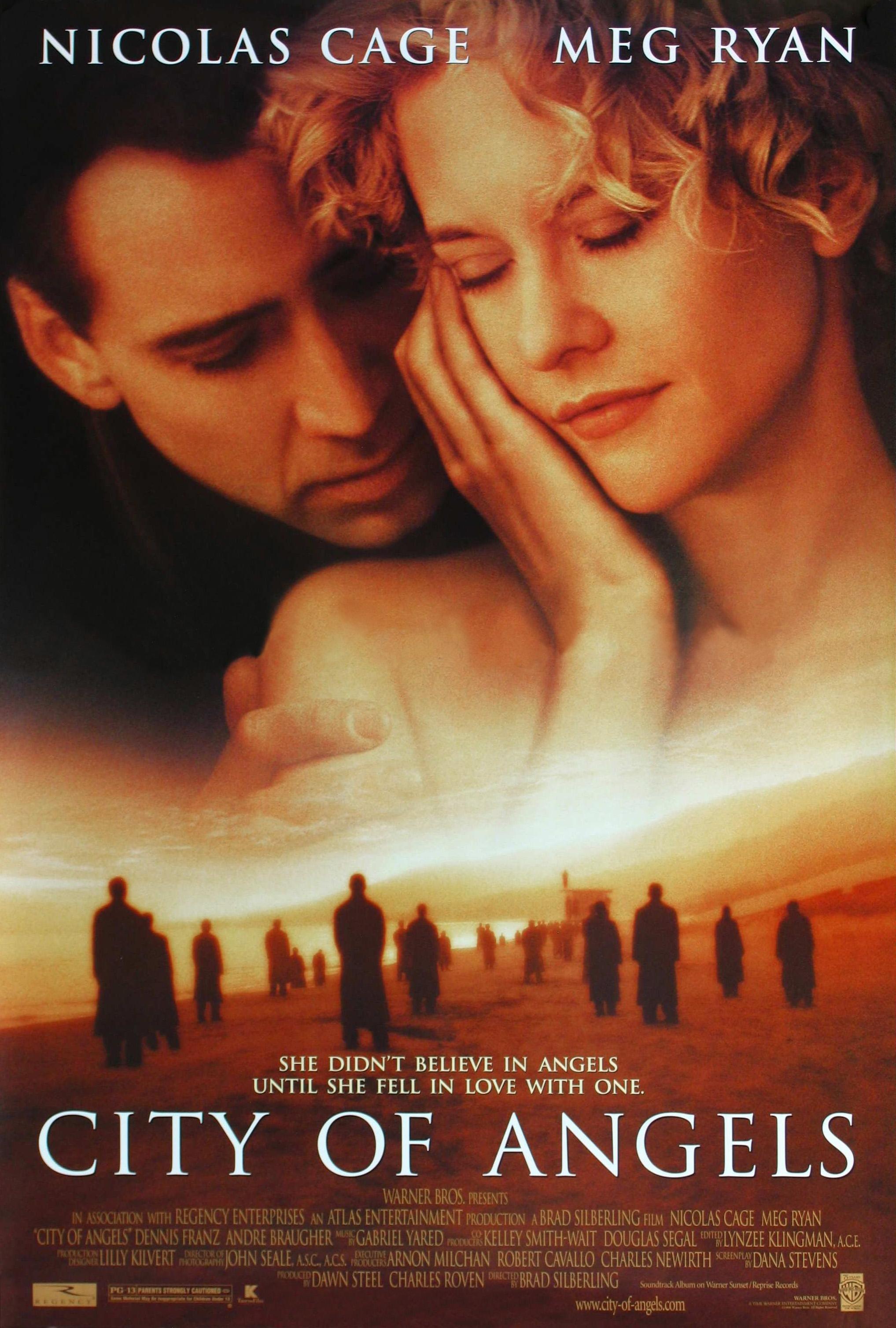 плакат фильма Город ангелов