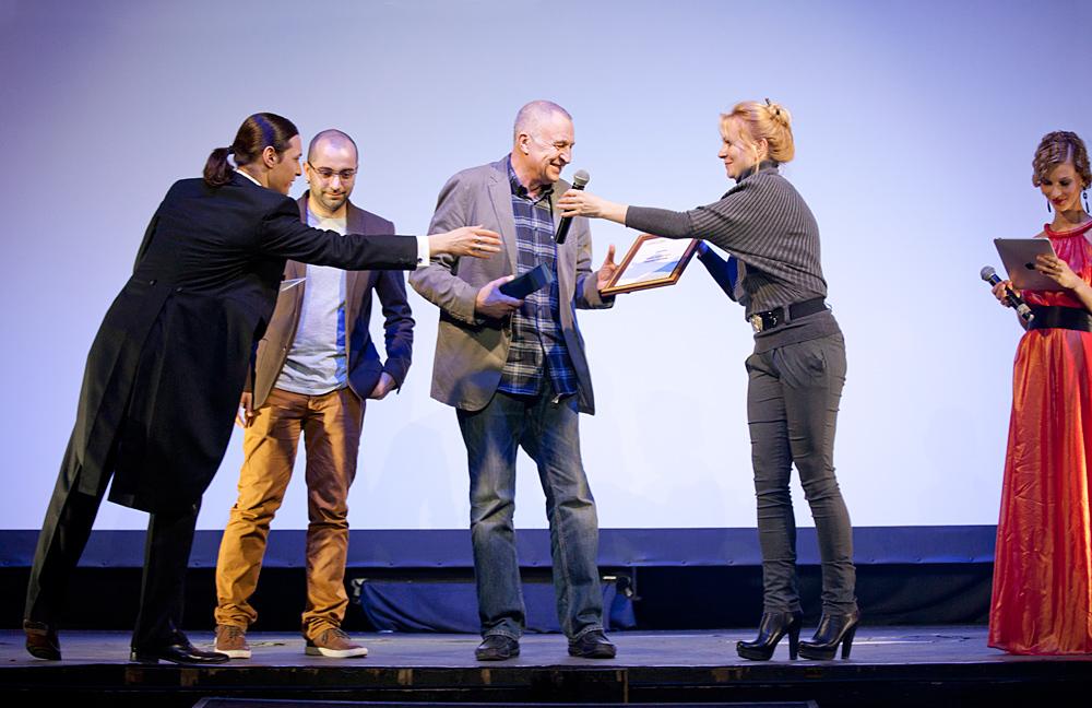 Церемония награждения Российской народной кинопремии «Жорж 2012» Светлана Иванова, Алексей Франдетти, Андрей Смирнов,