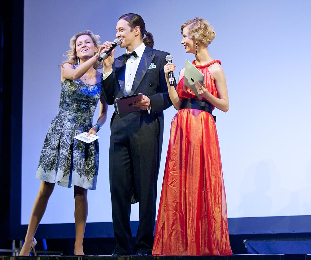 Церемония награждения Российской народной кинопремии «Жорж 2012» Рената Пиотровски,