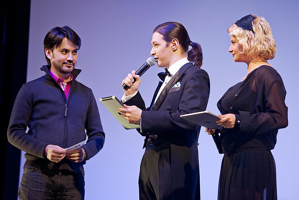 Церемония награждения Российской народной кинопремии «Жорж 2012» Алексей Франдетти,