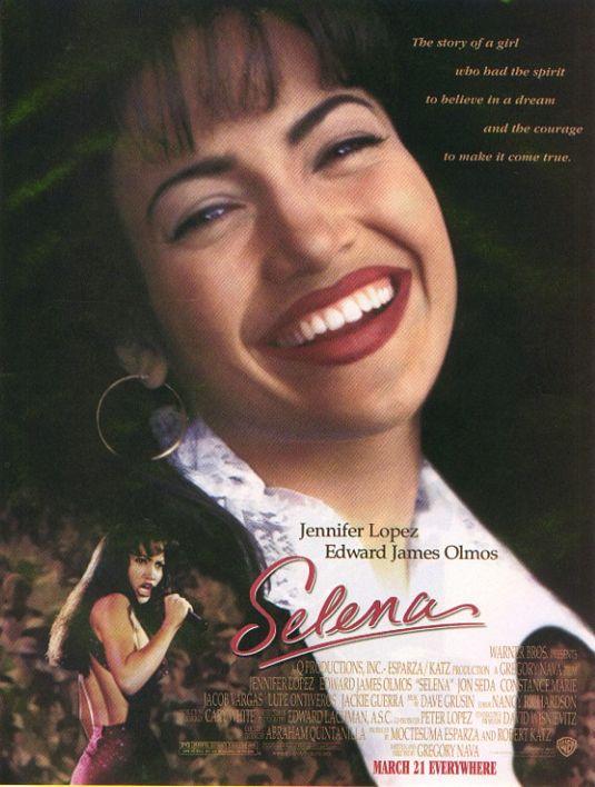 плакат фильма Селена