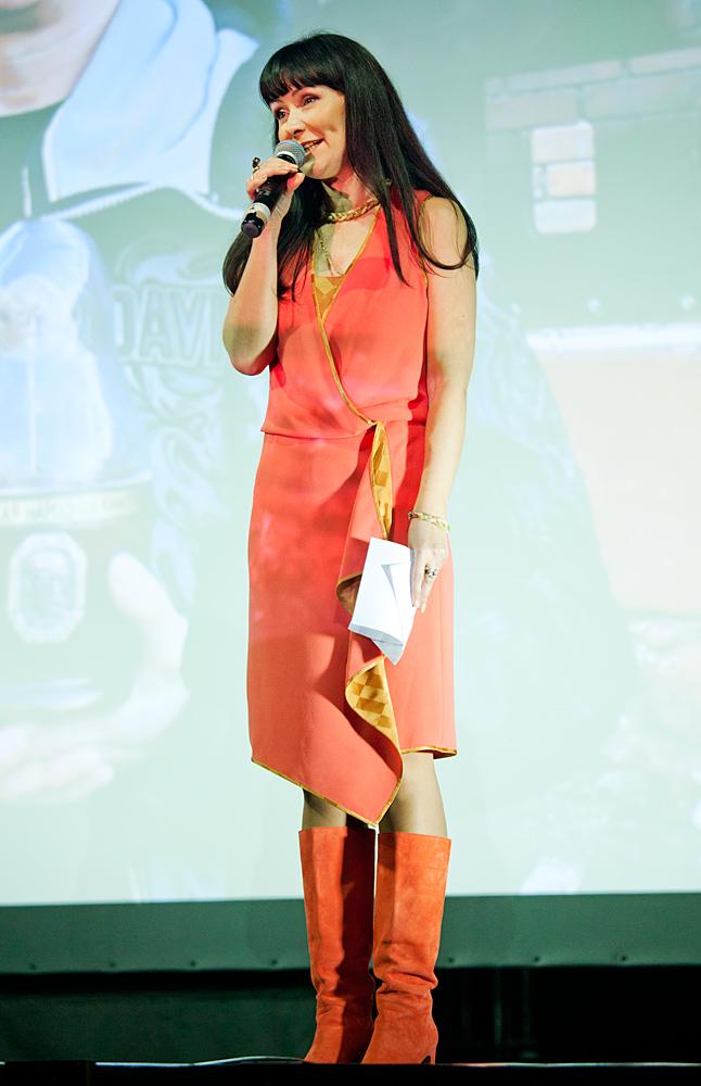 Церемония награждения Российской народной кинопремии «Жорж 2012» Нонна Гришаева,