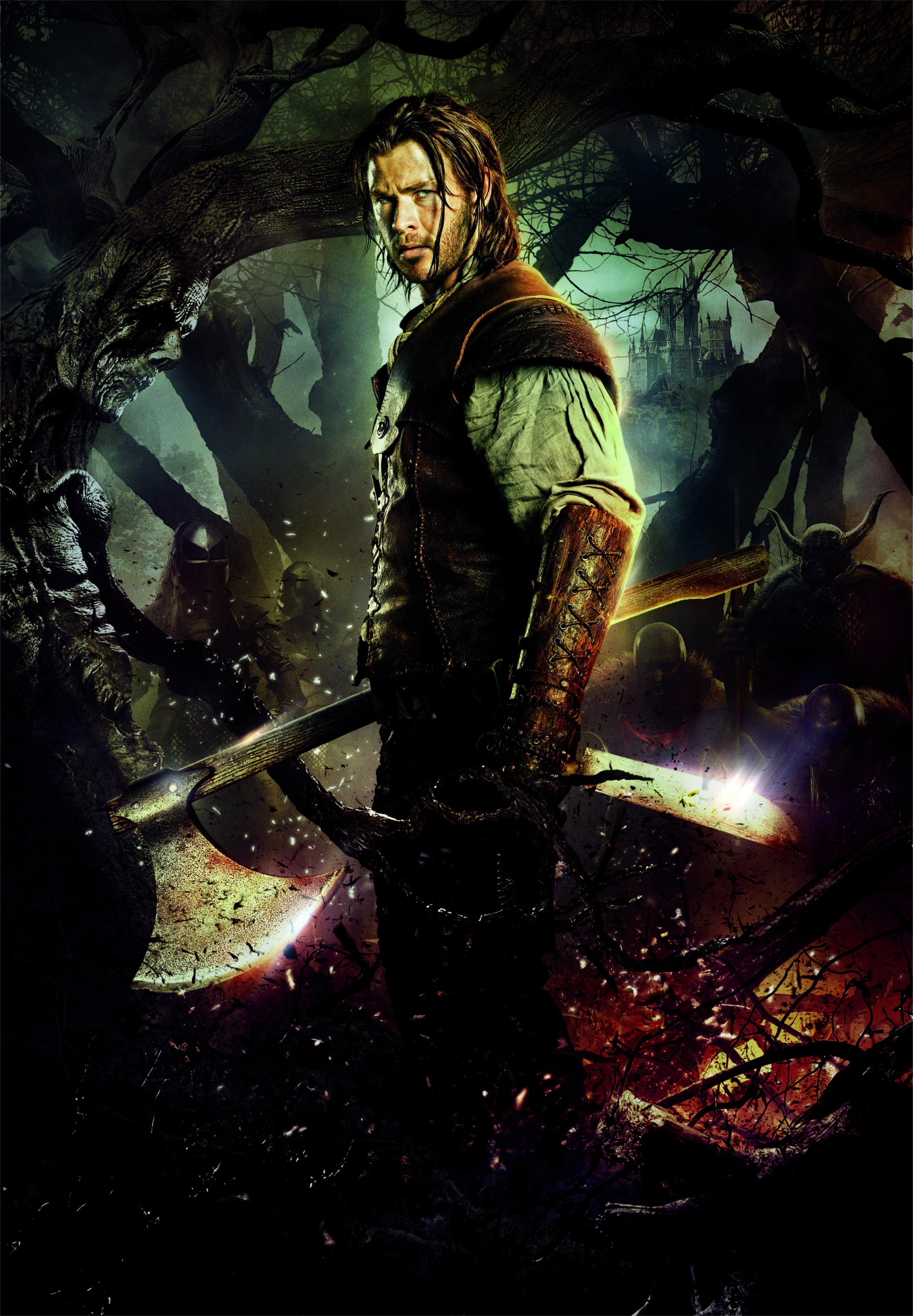 плакат фильма характер-постер textless Белоснежка и охотник