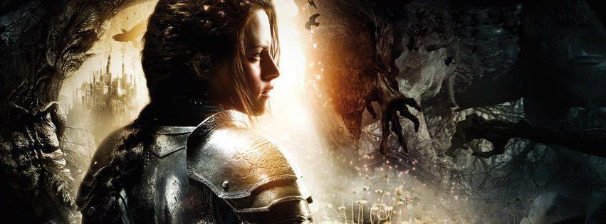 плакат фильма характер-постер баннер textless Белоснежка и охотник