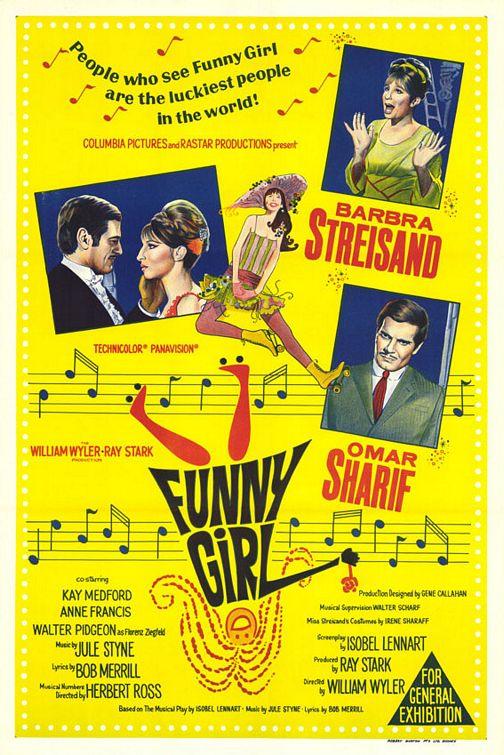 плакат фильма Смешная девчонка