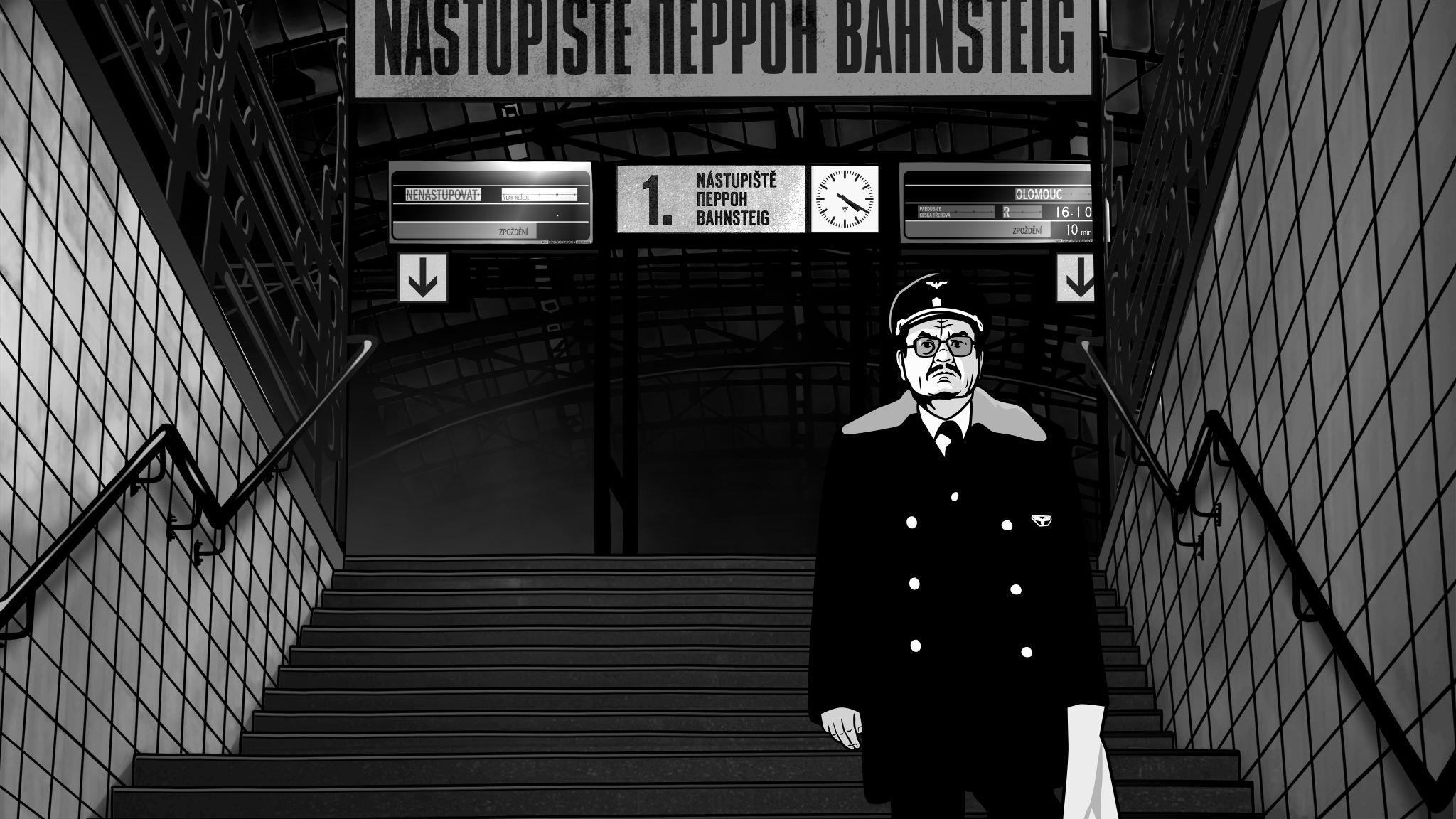 кадры из фильма Алоис Небель и его призраки Мирослав Кробот,