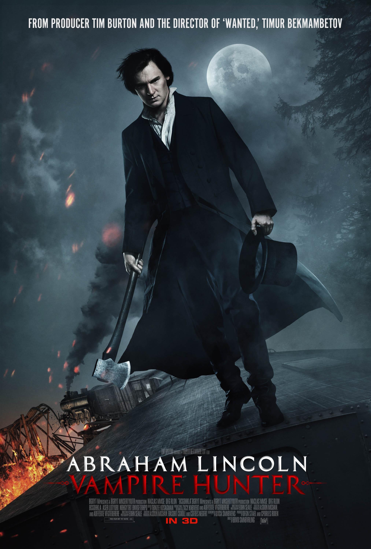 плакат фильма постер Президент Линкольн: Охотник на вампиров