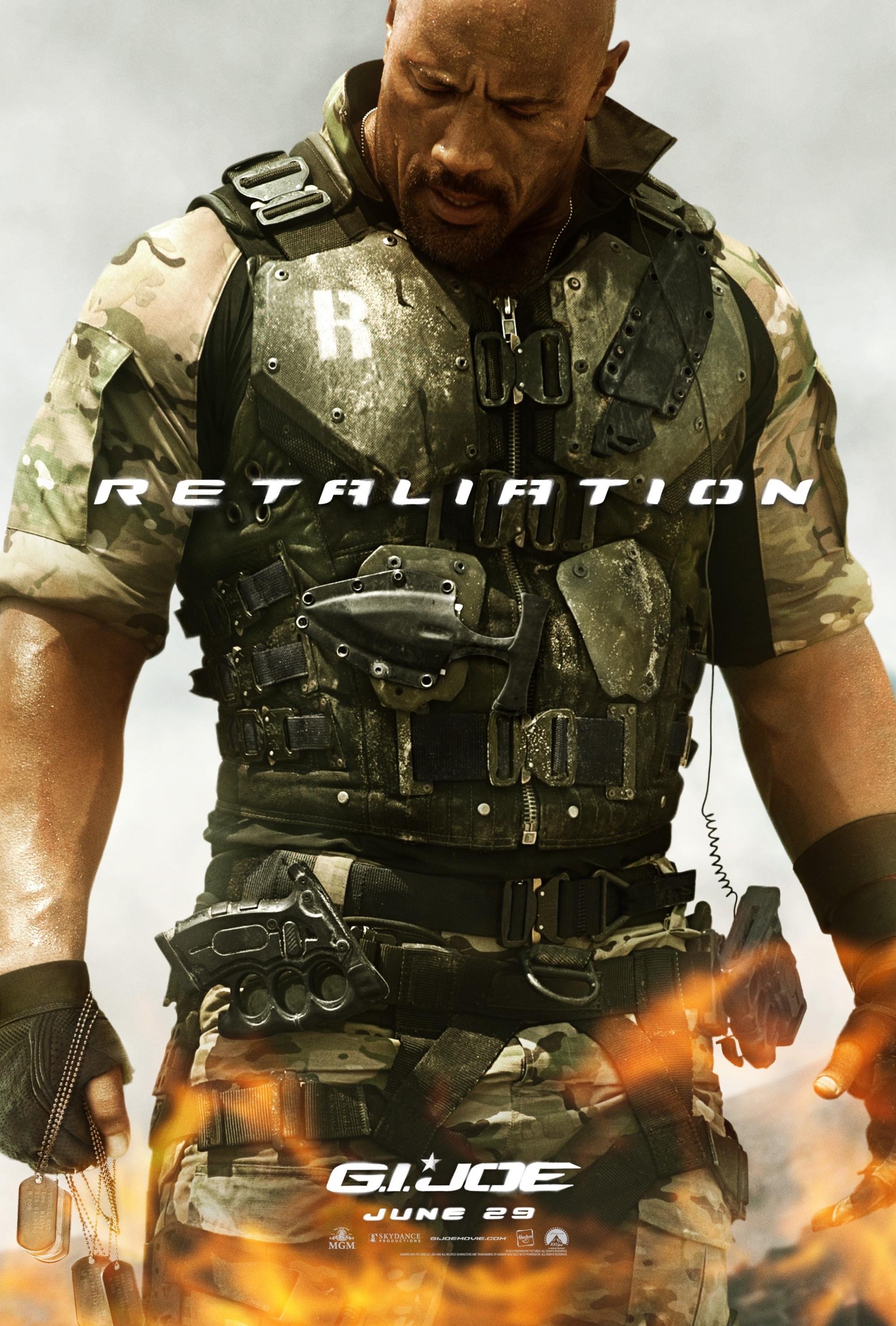 плакат фильма характер-постер G.I. Joe: Бросок кобры 2