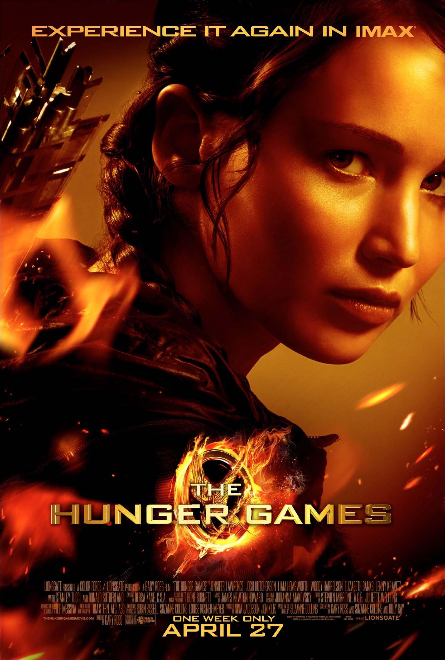 плакат фильма IMAX-постер Голодные игры