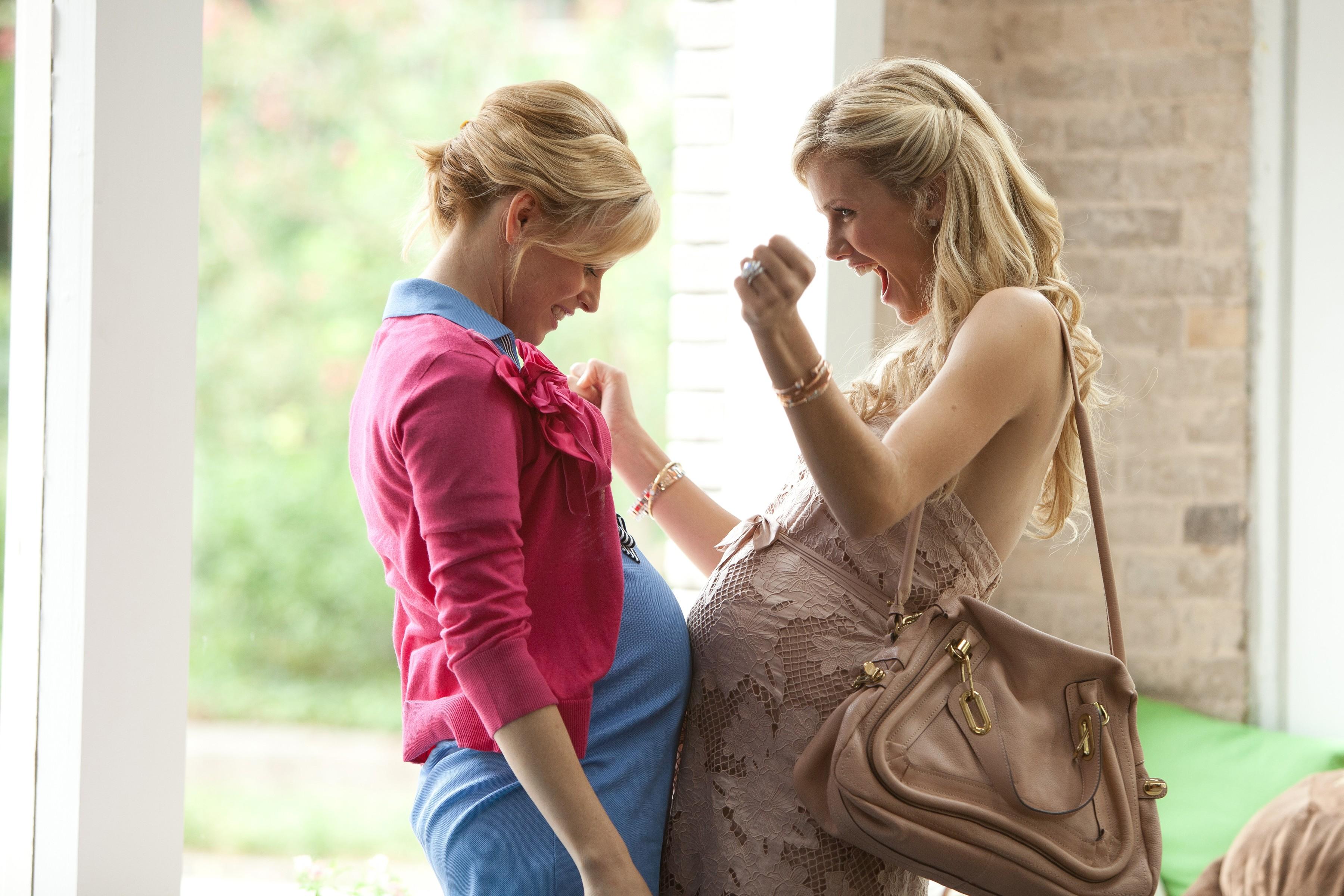 кадры из фильма Чего ждать, когда ждешь ребенка Элизабет Бэнкс, Бруклин Декер,