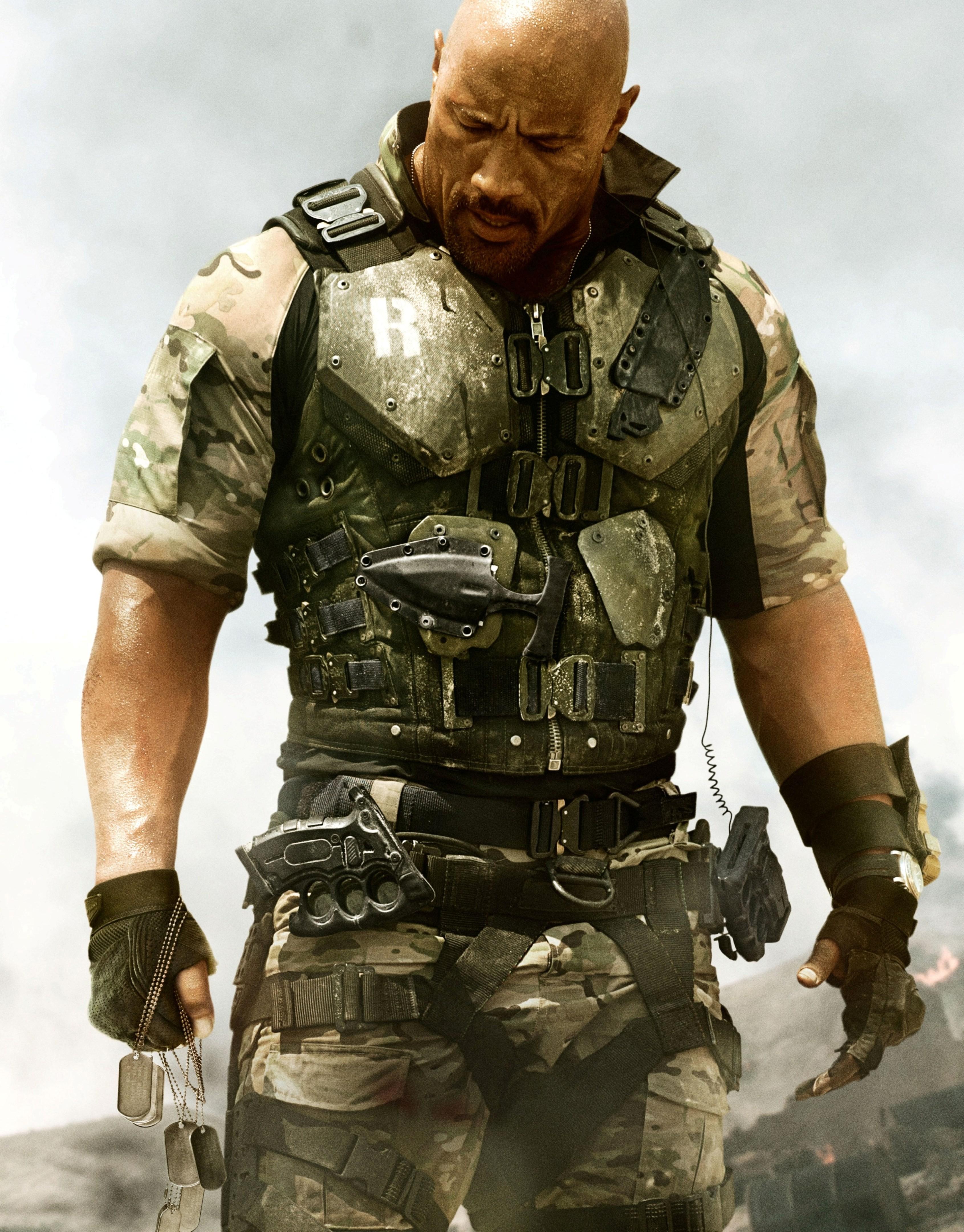 плакат фильма характер-постер textless G.I. Joe: Бросок кобры 2