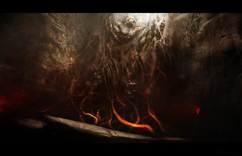 концепт-арты Гнев титанов