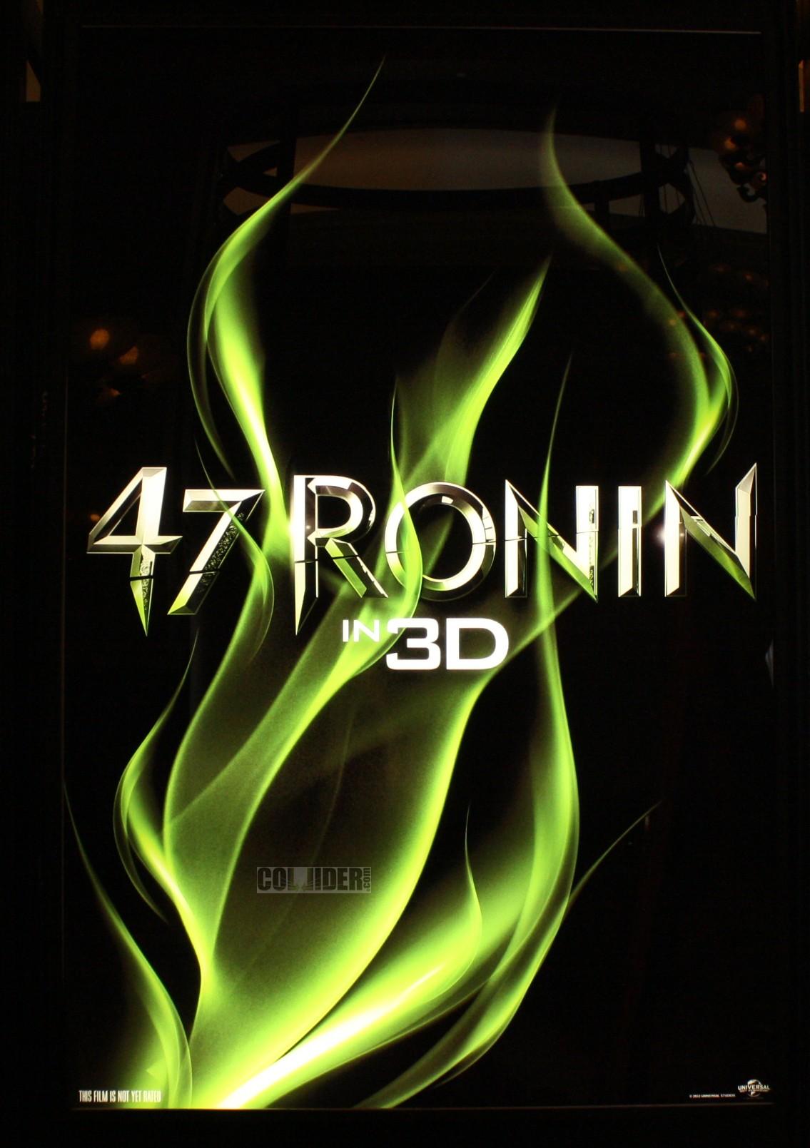 плакат фильма сейлс-арт 47 ронинов