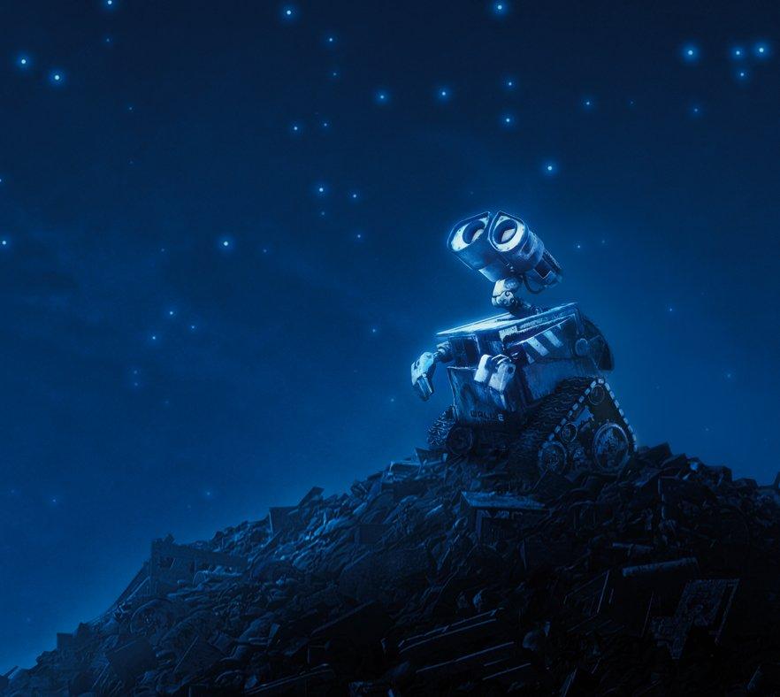 кадры из фильма Валл-И