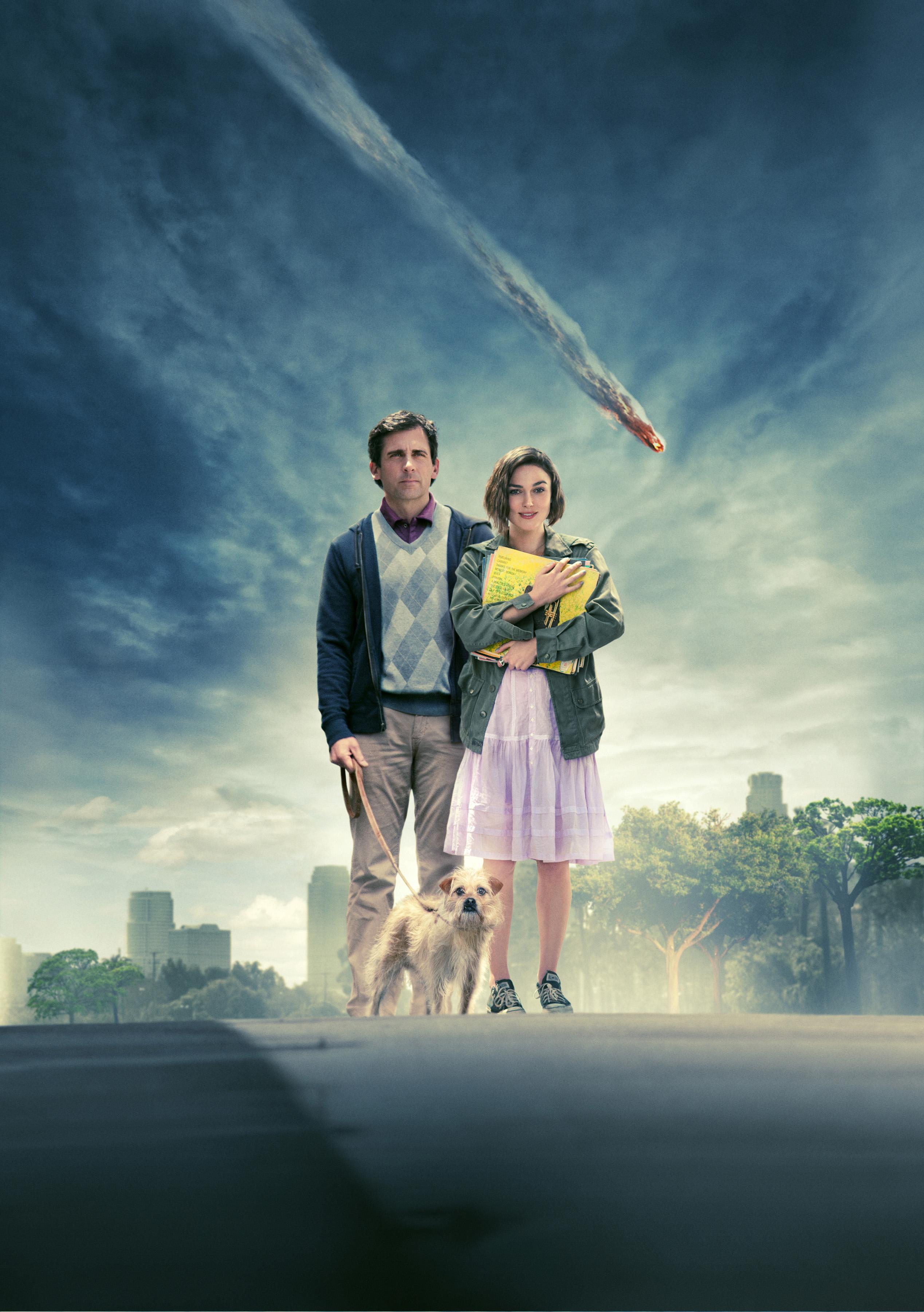 плакат фильма постер textless Ищу друга на конец света