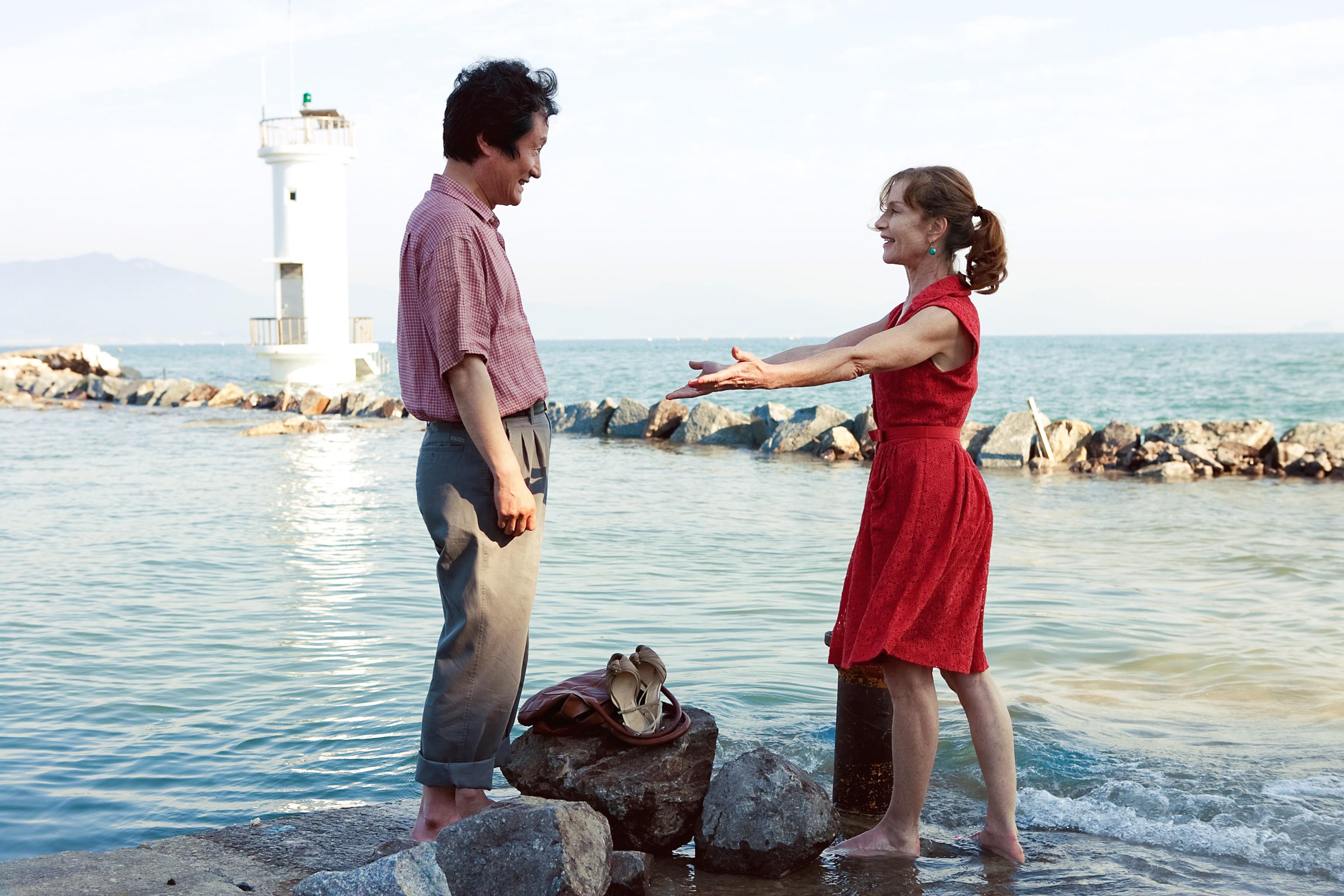 кадры из фильма В другой стране Ю Чжун-Сан, Изабелль Юппер,