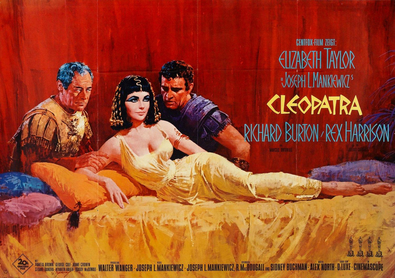 плакат фильма постер Клеопатра