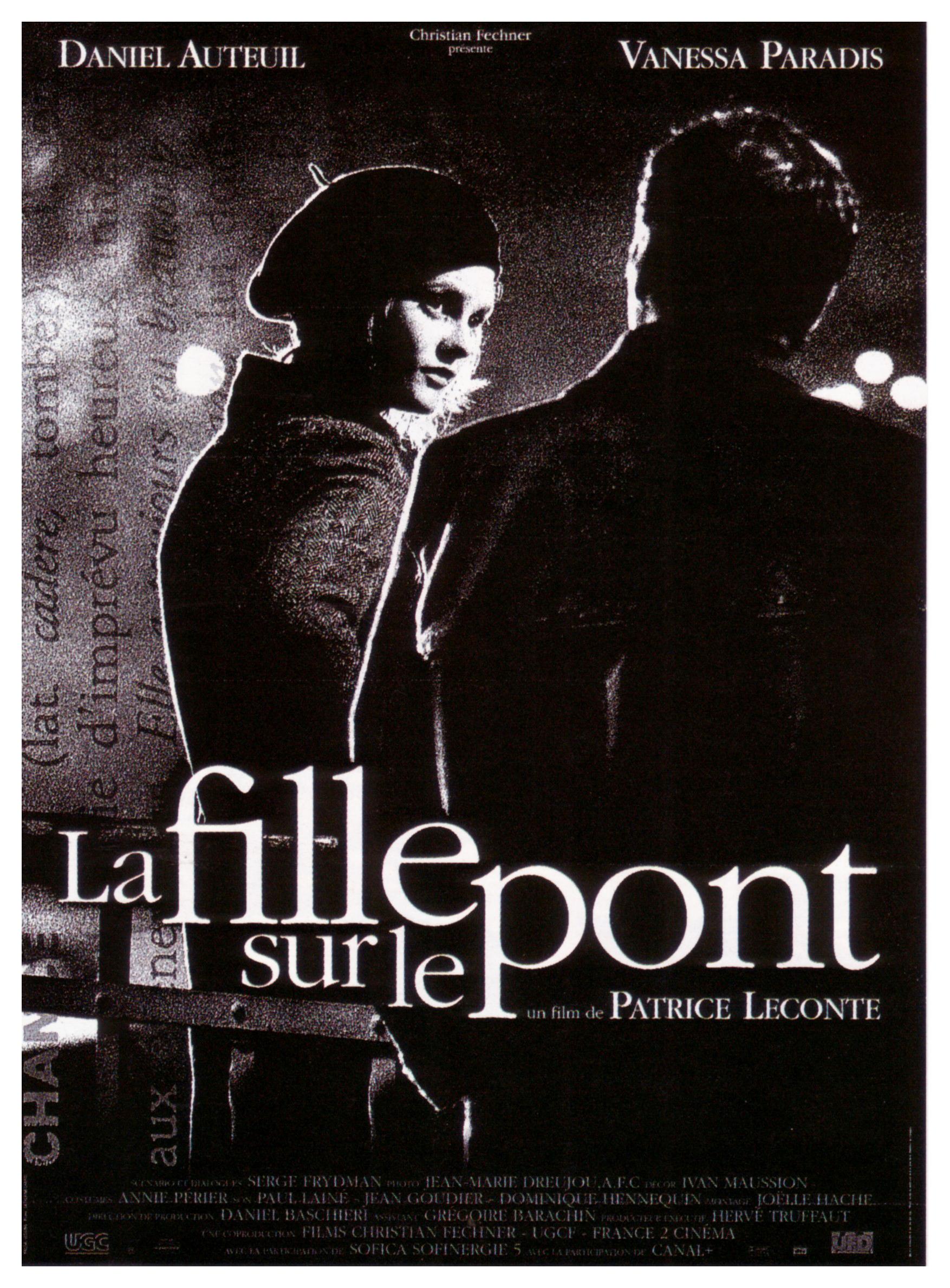 плакат фильма постер Девушка на мосту