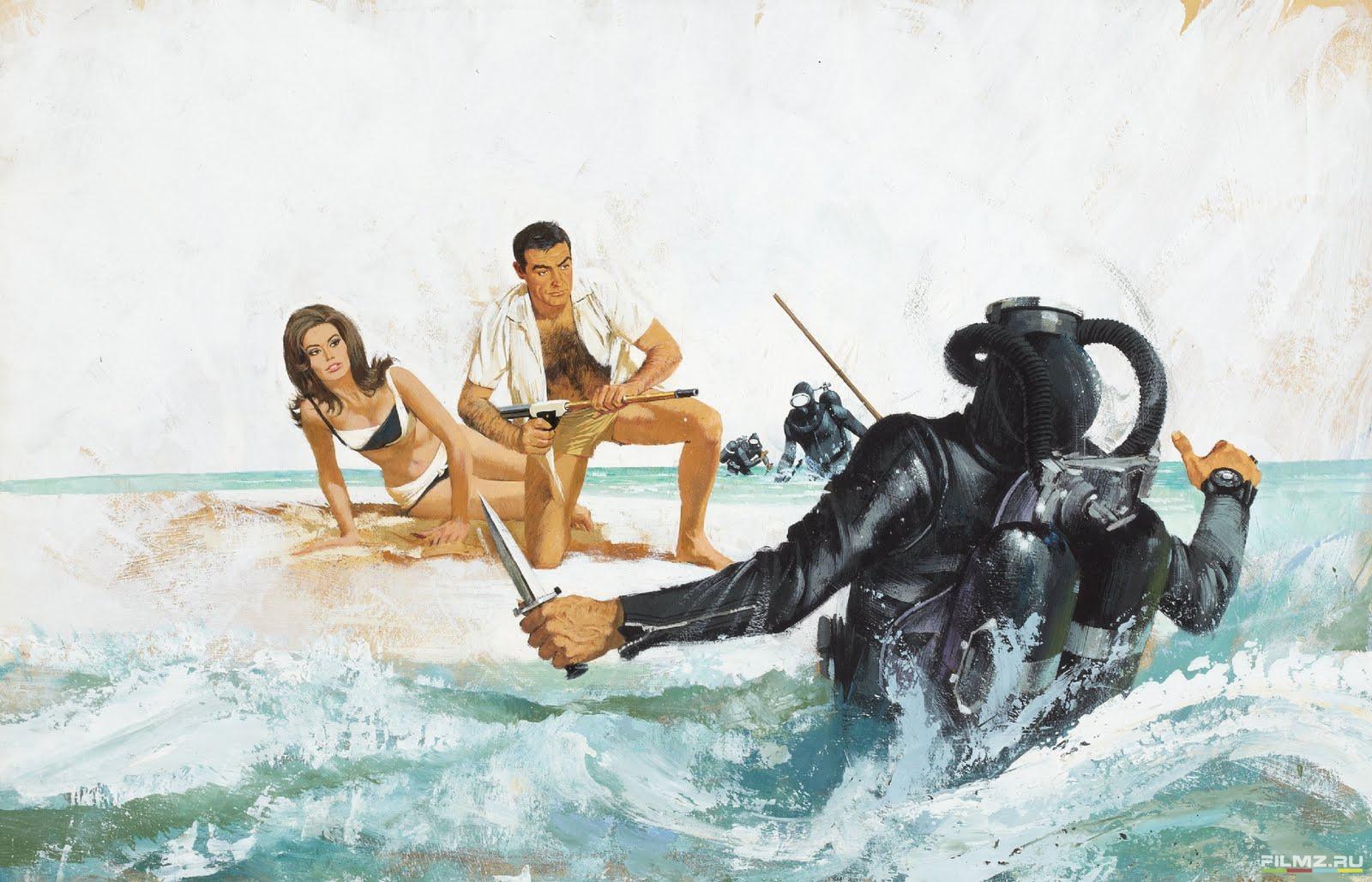 концепт-арты Шаровая молния Клодин Оже, Шон Коннери,
