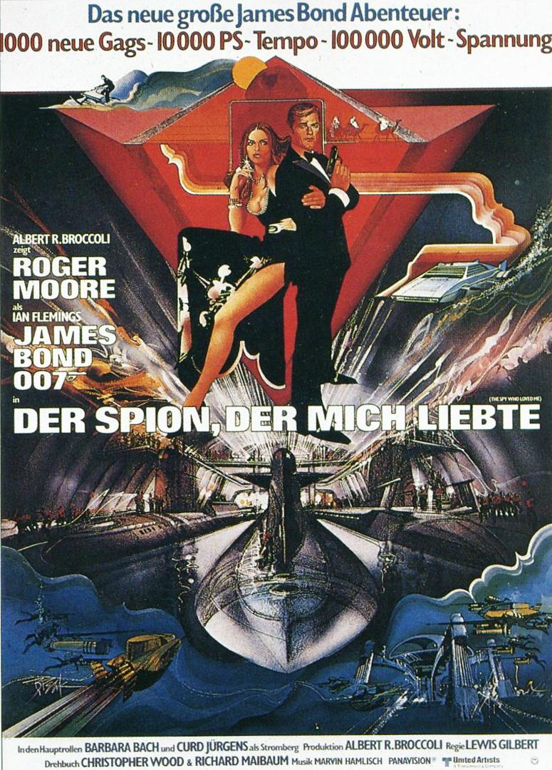 плакат фильма постер Шпион, который меня любил