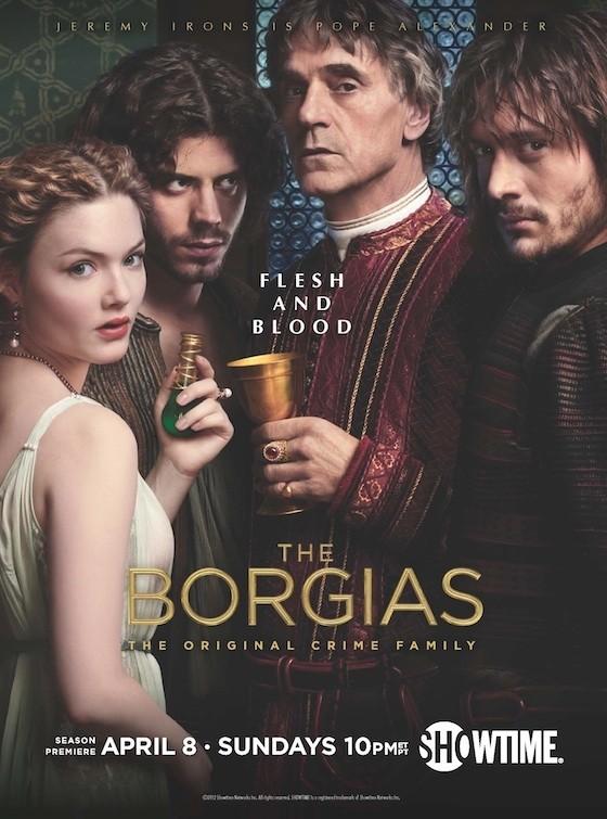 плакат фильма Борджиа