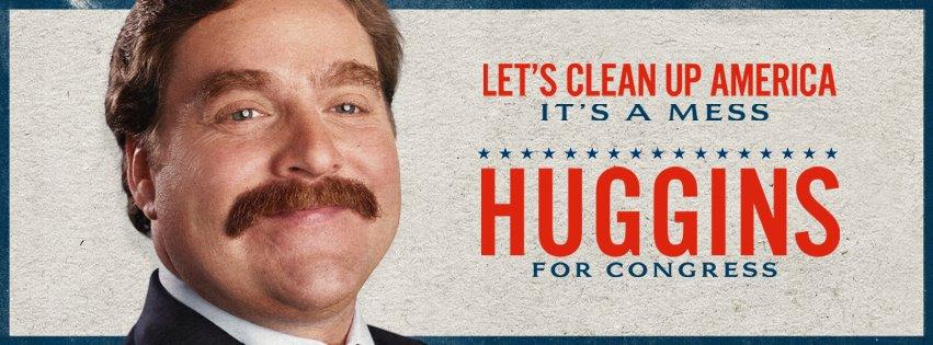 промо-слайды Грязная кампания за честные выборы Зак Галифианакис,