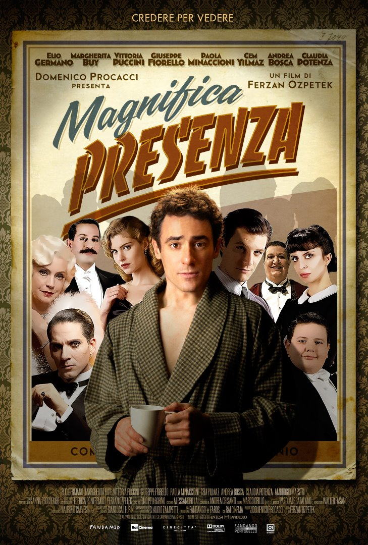 плакат фильма постер Присутствие великолепия