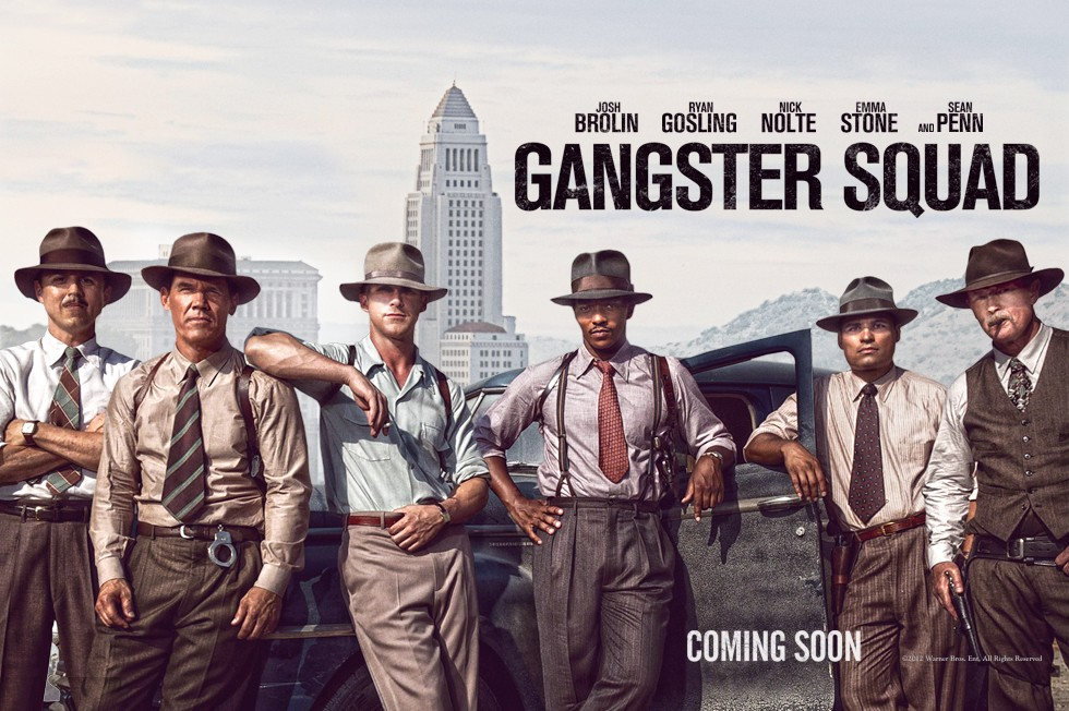 плакат фильма биллборды Охотники на гангстеров