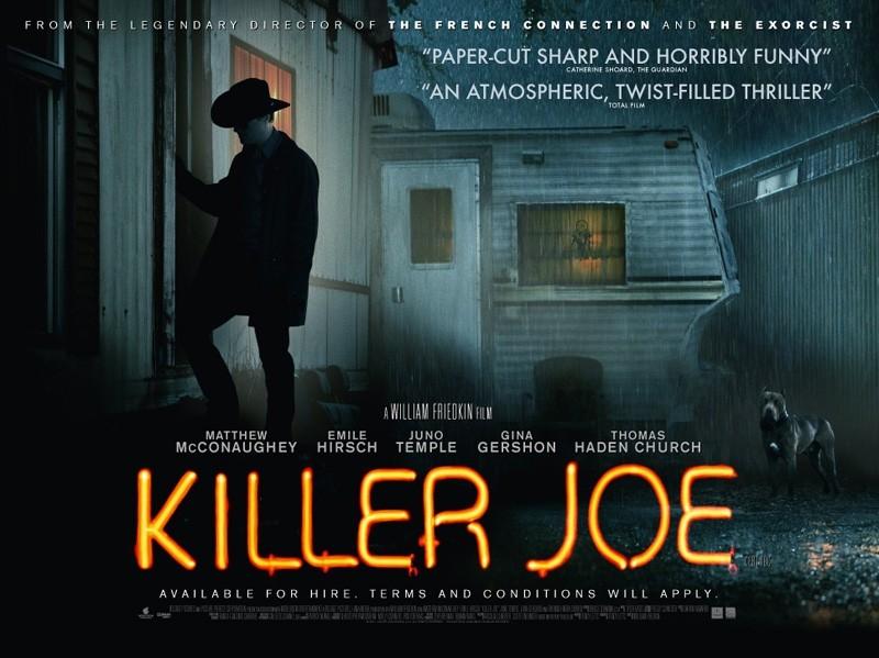 плакат фильма биллборды Киллер Джо