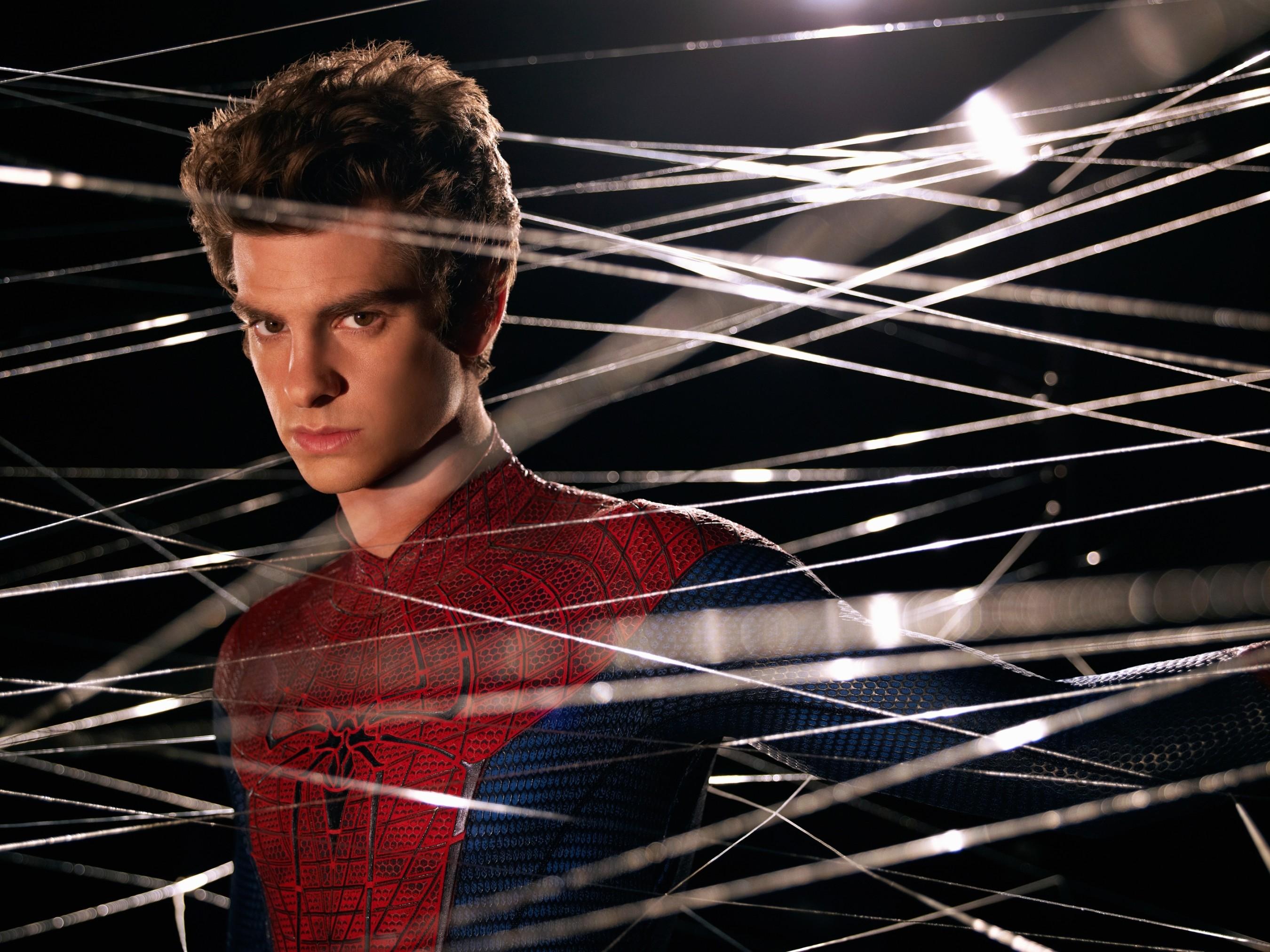 промо-слайды Новый Человек-паук Эндрю Гарфилд,