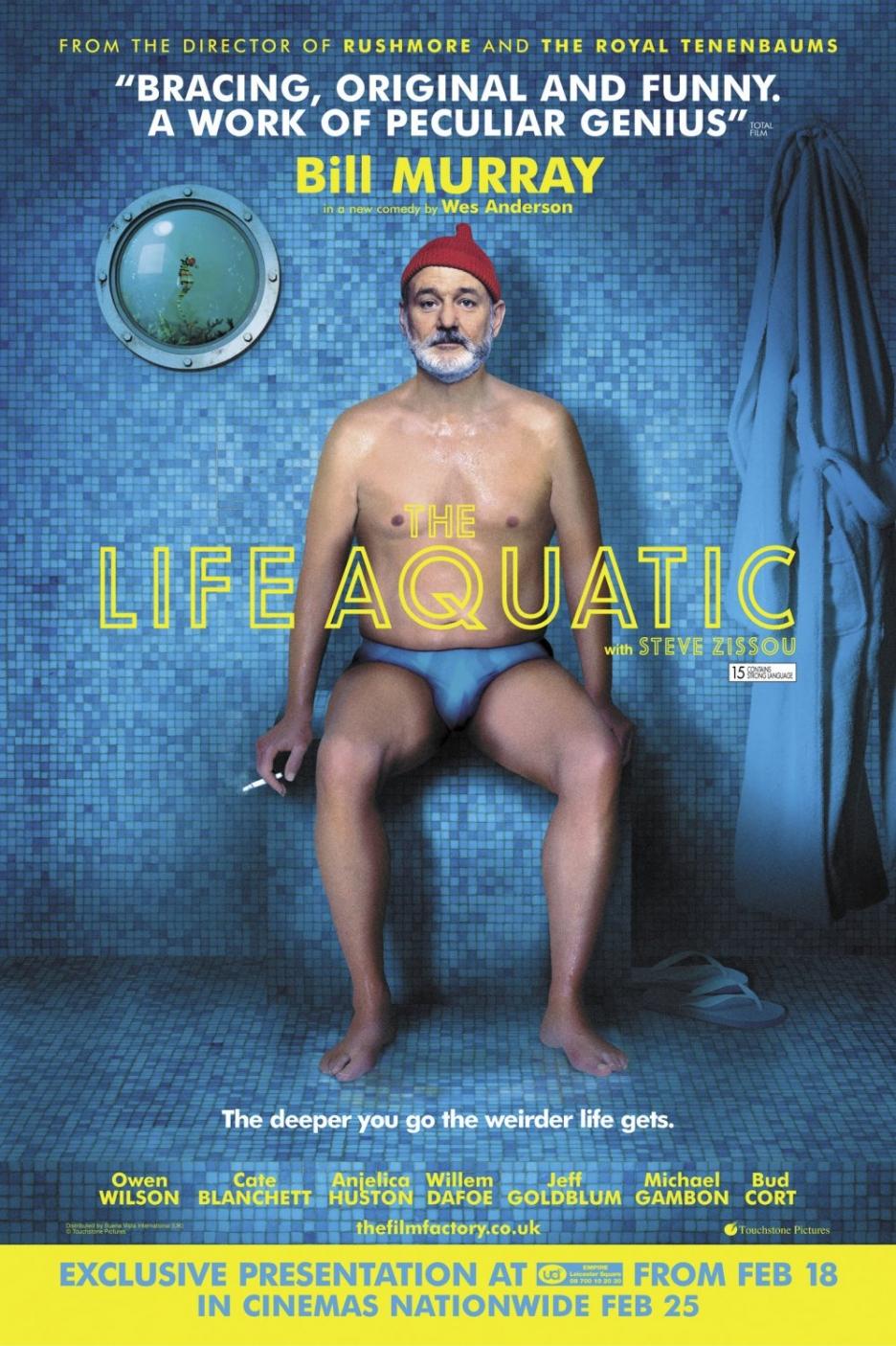 плакат фильма постер Водная жизнь