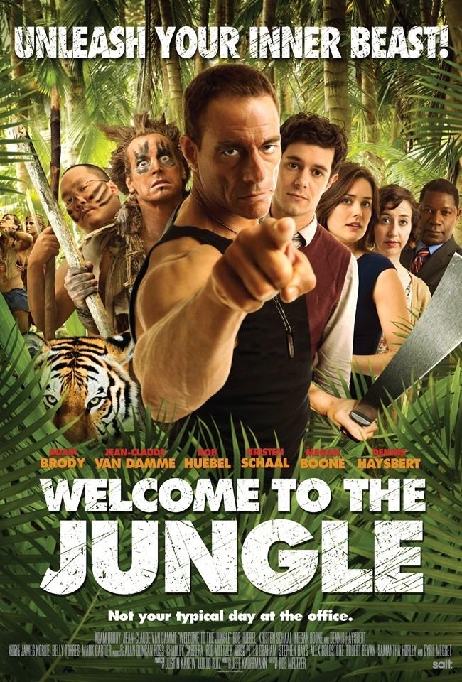 плакат фильма постер Добро пожаловать в джунгли*