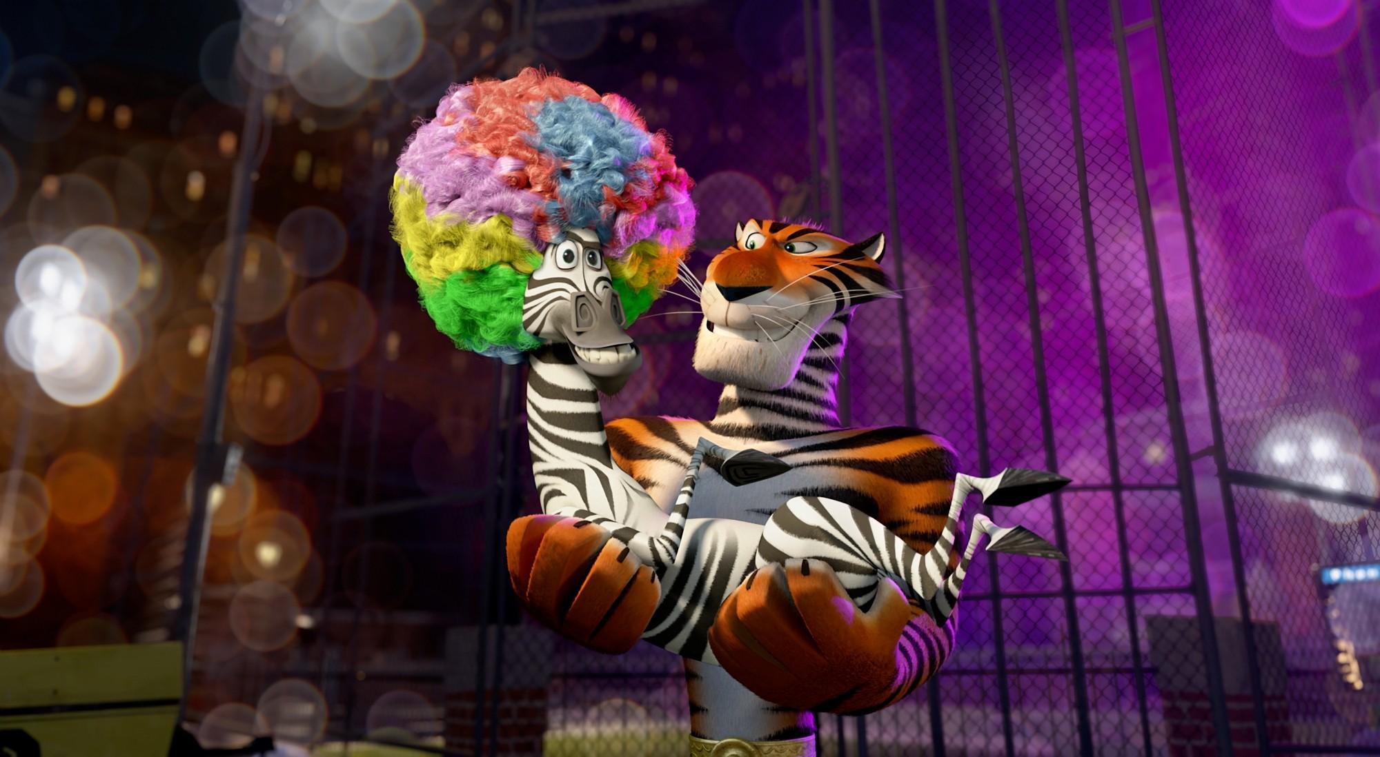кадры из фильма Мадагаскар 3 в 3D Крис Рок, Брайан Крэнстон,