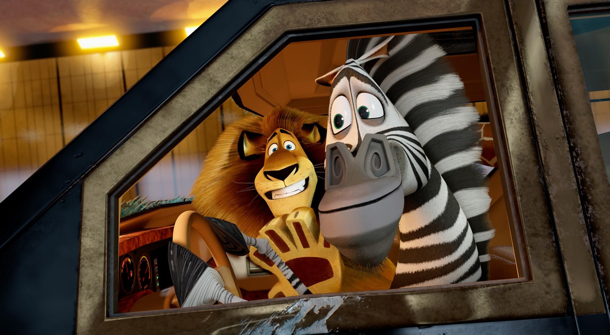 кадры из фильма Мадагаскар 3 в 3D Бен Стиллер, Крис Рок,