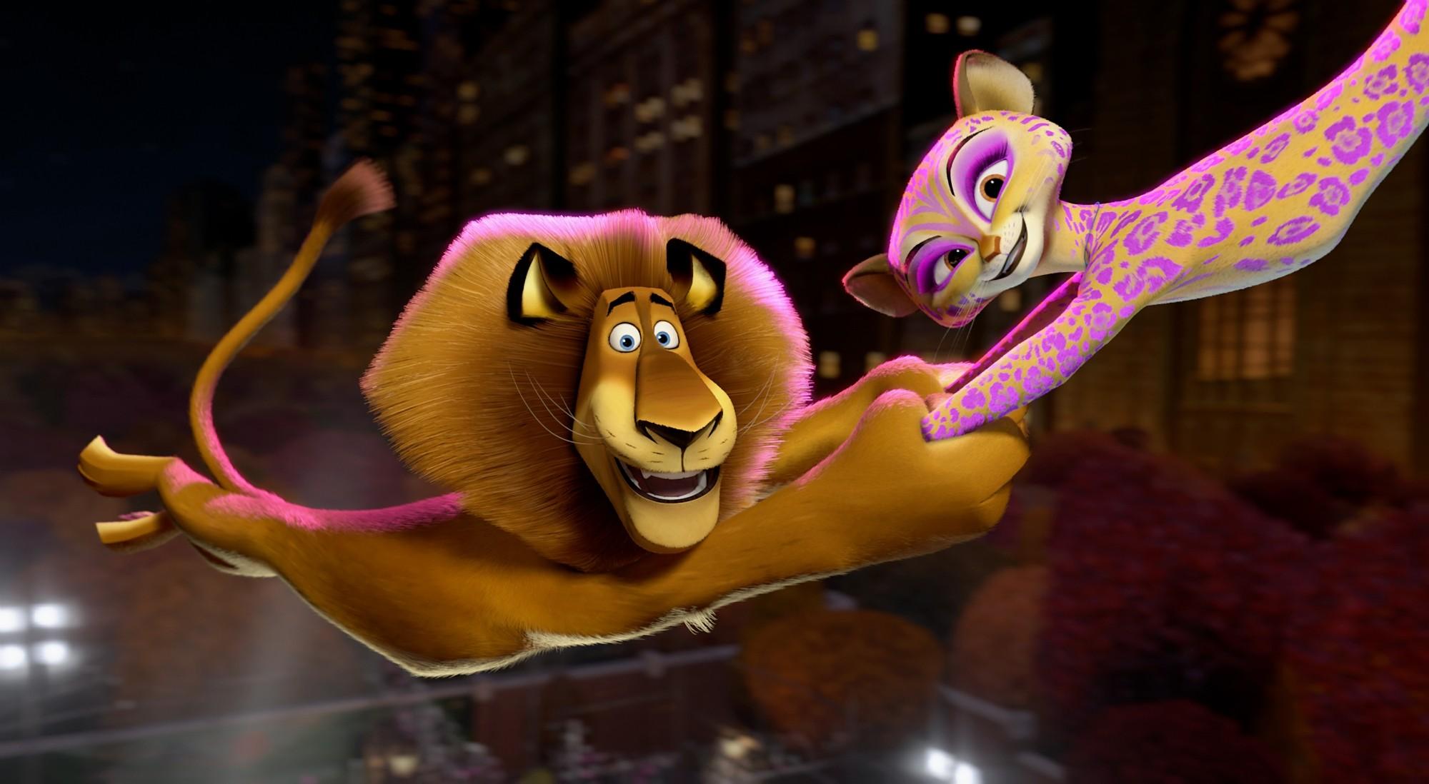 кадры из фильма Мадагаскар 3 в 3D Бен Стиллер, Джессика Честейн,