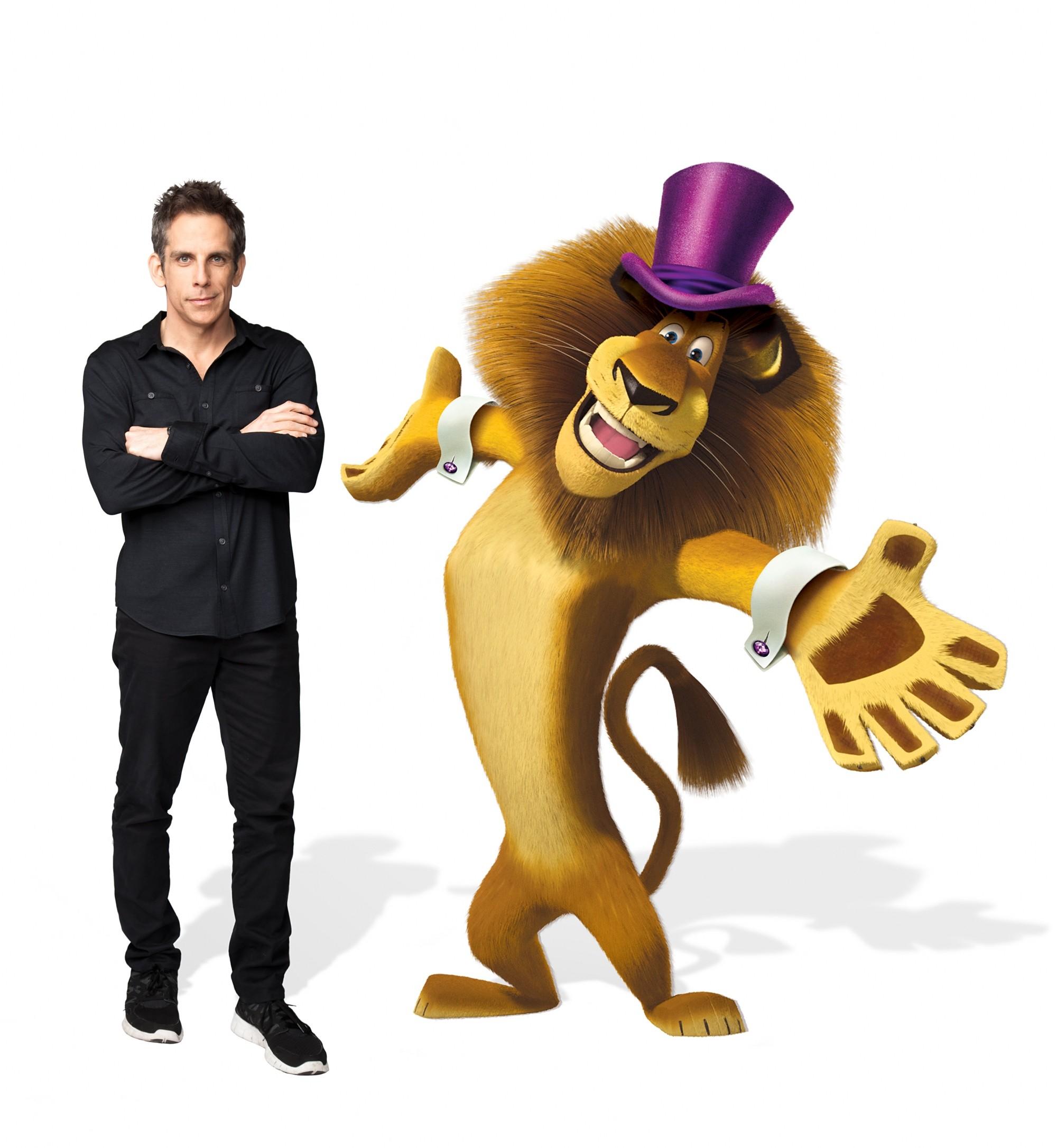 промо-слайды Мадагаскар 3 в 3D Бен Стиллер,